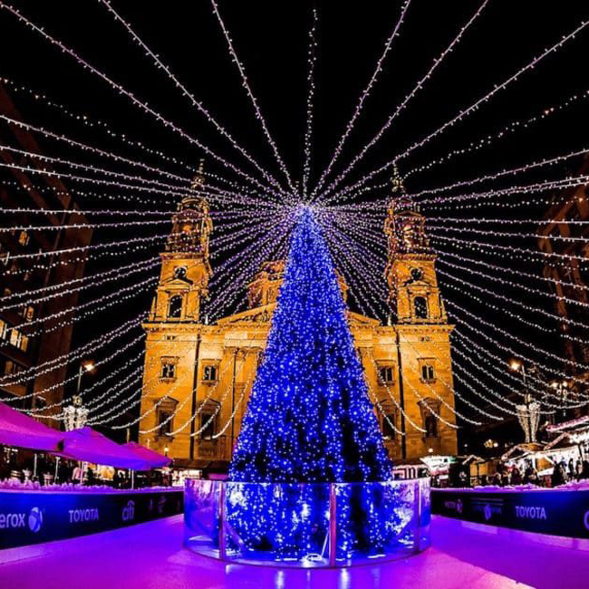 Коледна приказка в Будапеща и Виена