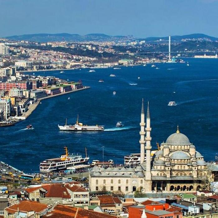 Истанбул - град на два континента