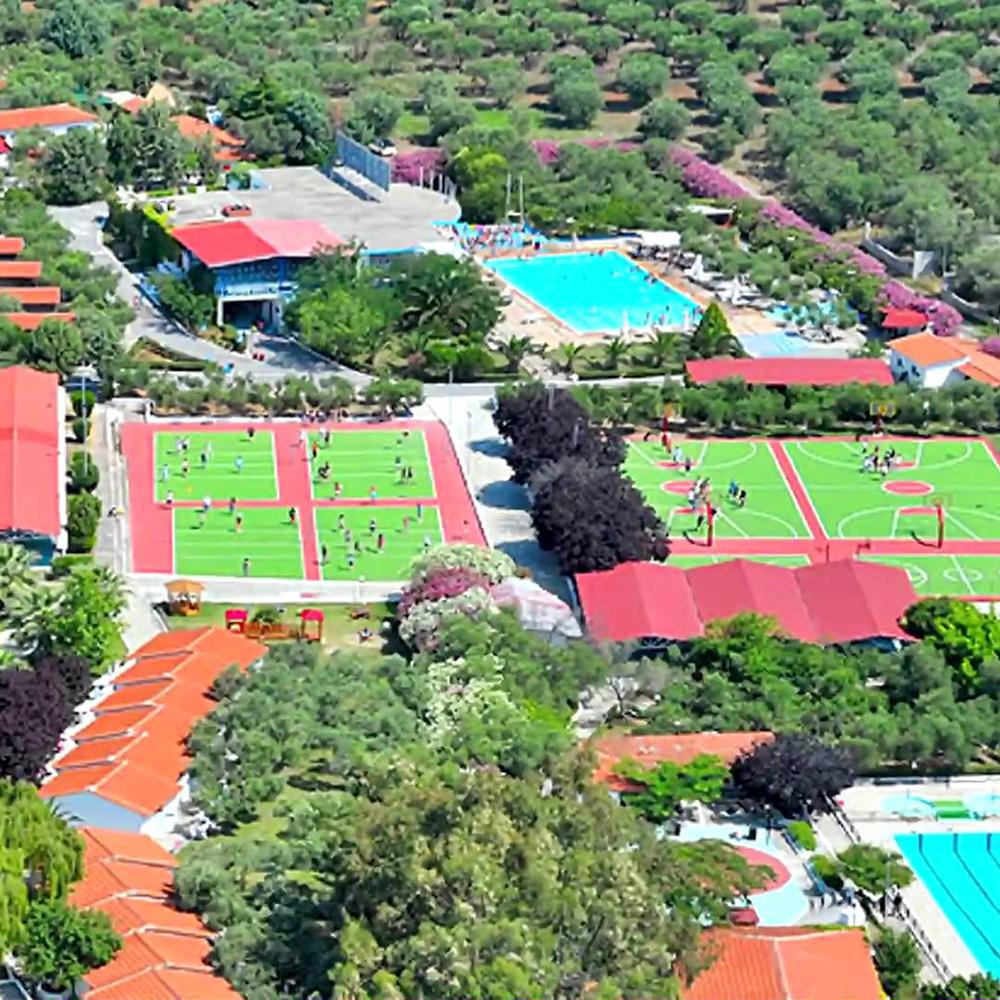 Международен детски спортен eзиков лагер Гърция