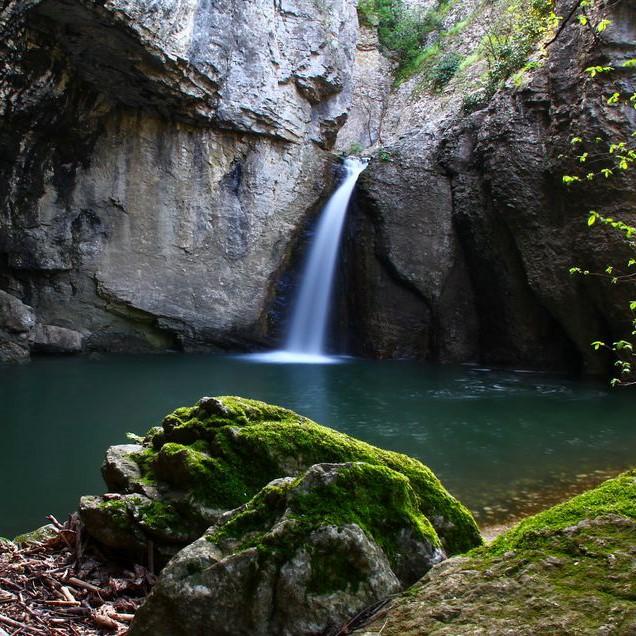 Великотърновски екопътеки, водопад Видимско пръскало, Крушунски водопади